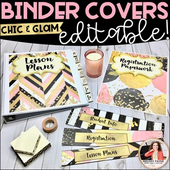 Piano Teacher Binder Inserts, Covers, Dividers, Spines, Ta