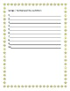 Piano Teacher Lesson Summer Memory Challenge Worksheet Form