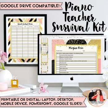 2016-2017 Piano Teacher Survival Kit: 135+ Pages of Glam T