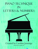 Piano Technique in Letters and Numbers