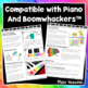 30 Color-Coded Easy-to-Play Songs Compatible With Piano and Boomwhackers!