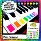 Six Color-Coded Easy To Play Piano Song Sheets
