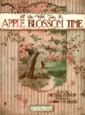 Piano sheet music - I Will Be with You in Apple Blossom Time