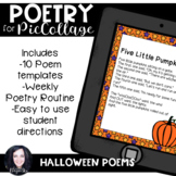 Pic Collage Digital Poetry Halloween