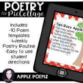 Pic Collage Digital Poetry Apples