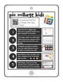 Pic Collage kids app sheet