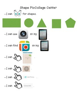 PicCollage Shapes Center