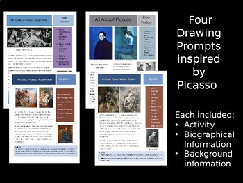 Picasso - 4 Sketchbook Prompts