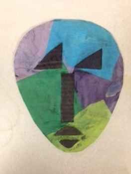 Picasso African Mask