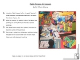 Picasso Art Lesson