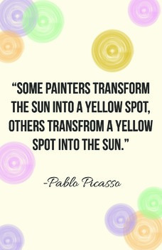 Picasso Classroom Poster