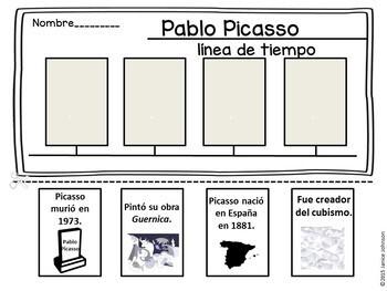 Pablo Picasso & Salvador Dalí Spanish Artist Reader Bundle {en español}