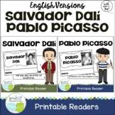Pablo Picasso & Salvador Dalí Spanish Artist Reader Bundle {English Version}