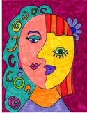 Picasso Face Art Lesson