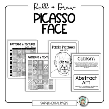 Picasso Face Roll & Draw Pages