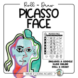 Picasso Portrait Drawing, Timeline and Coloring