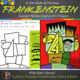 Picasso Frankenstein Interactive - Cubism - Frankenstein D
