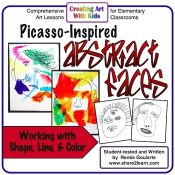 Art Lesson - Picasso-Inspired Abstract Face Drawing