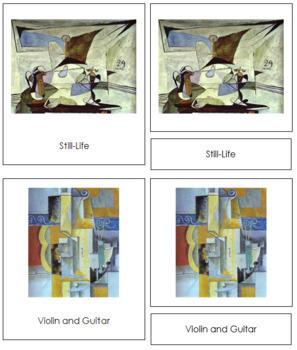Picasso (Pablo) 3-Part Art Cards