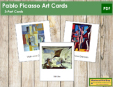 Picasso (Pablo) 3-Part Art Cards