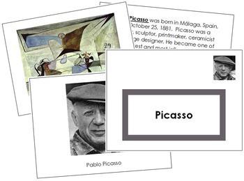Picasso (Pablo) Art Book - Color Border