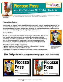 Picasso Pass Incentive Tickets UPDATED 2016
