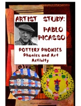Picasso Pottery Phonics:  An Integrated ELA and Art Activity (CCSS Aligned)