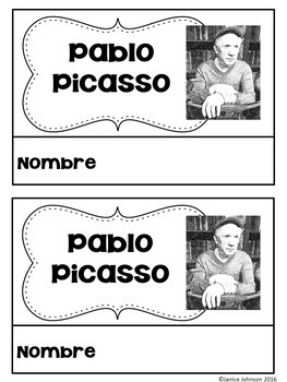 Picasso Reader Organizer, & Timeline {En español}