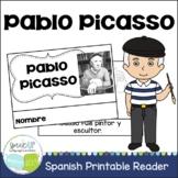 Pablo Picasso Reader, Organizer, & Timeline {En español}