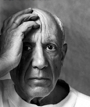 Picasso Reflection portrait