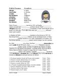 Picasso Spanish Biography Worksheet (Preterite vs. Imperfect) SUB PLAN
