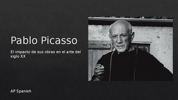 Picasso Spanish PowerPoint. El impacto de sus obras en el arte del siglo XX