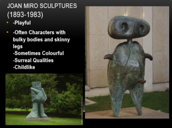 Picasso and Miro Foam Carving