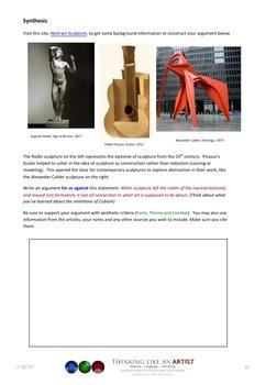Picasso's Guitar - The Cubist Revolution in Sculpture - Art History mini-lesson