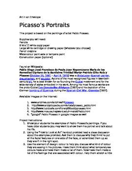 Picasso's Portraits