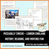 Piccadilly Circus - London England - History, Facts, Color