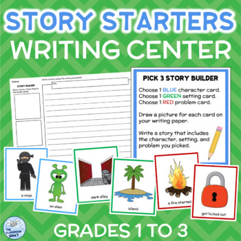 Pick 3 Story Starters WRITING CENTER