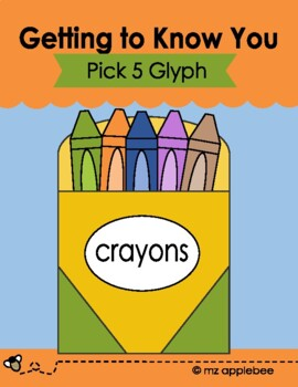 Pick 5 Glyph: Getting to Know You