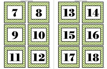 Pick 5 Math Activity for Centers & Task Cards
