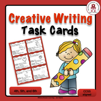 Creative Writing Task Cards