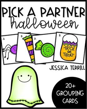 Pick A Partner: Spooky Friends