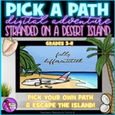 Pick A Path Desert Island Pick Your Own Adventure Digital