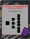 Pick-A-Path Digital Citizenship Review Activity