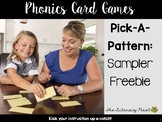 Pick-A-Pattern FREEBIE SAMPLER CVC: Orton-Gillingham Games