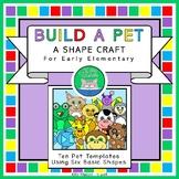 Build A Pet - An Early Elementary Math Animal Building Sha