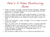 Pick A Pizza Reinforcing Game- Corresponding to the book P