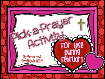 Pick-A-Prayer Activity for February