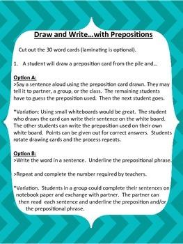 Pick-A-Preposition