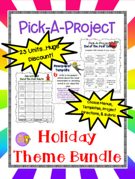 Holiday Pick-A-Project EXPANDING BUNDLE