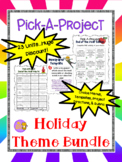 Holiday Pick-A-Project BUNDLE - 23 Holiday-Themed Choice M
